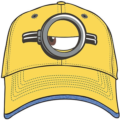 Disney Minion Look Left Yellow Hat