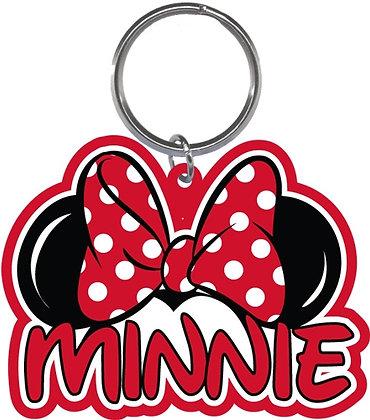 Disney's Minnie Mouse Ears Shaped Keychain