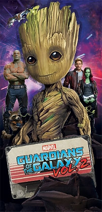 """Marvel's """"Guardians of the Galaxy"""" 28"""" X 58"""" Beach Towel"""