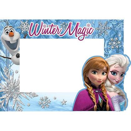 "Disney's ""Frozen"" Elsa, Anna & Olaf Winter Magic 4"" x 6"" Picture Frame"