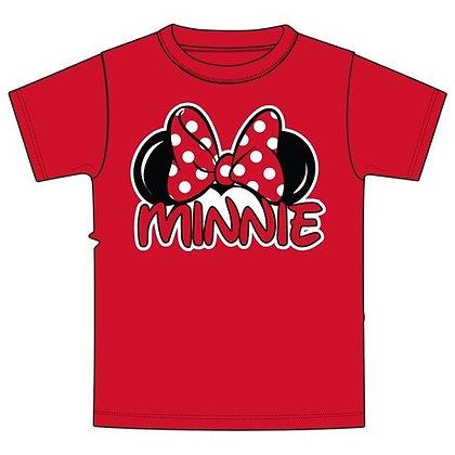 Disney's Red Minnie Ears TShirt