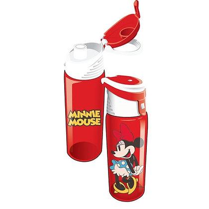 Disney's Cute 'Minnie Mouse' Flip Top Red Water Bottle