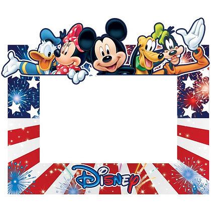 Disney's Character Memories American Pride 4x6 Picture Frame