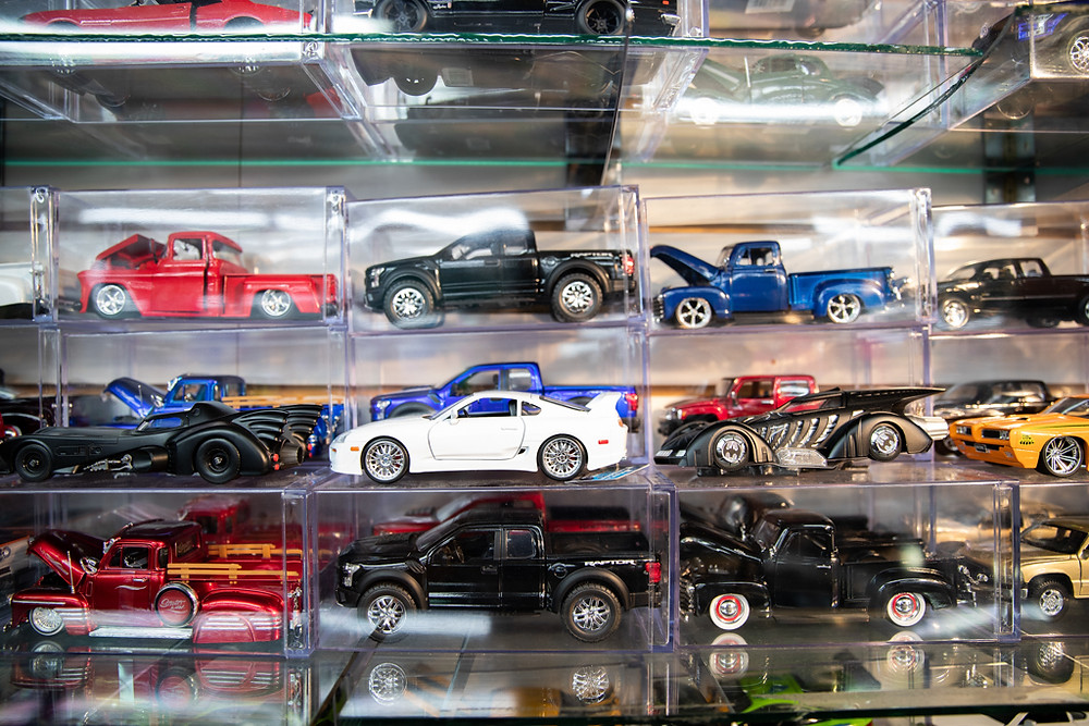 Collectible Cars in Visitors Flea Market in Kissimmee, Florida