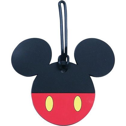 "Disney's ""Mickey Mouse"" Red & Black Pants Luggage Tag"