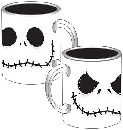 Nightmare Before Christmas Jack Skellington Faces 14 Oz Coffee Mug