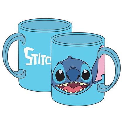 Disney's 'Stitch' Full Face Blue 11 Oz. Mug