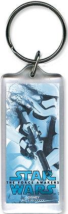 """Disney's """"Star Wars"""" Trooper Collage Keychain"""