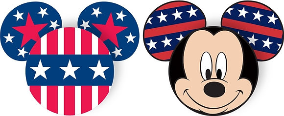 Disney's Mickey Mouse Pride Antenna Topper - (2 pack)
