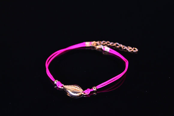 Pink Shell Anklet