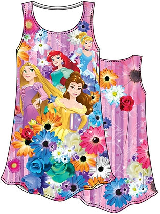 Disney's Princesses (Ariel, Belle, Rapunzel, etc) Girls Youth Dress