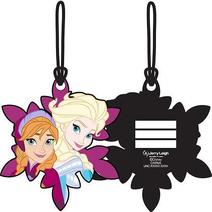 """Disney's """"Frozen"""" Elsa & Anna Luggage Tag"""