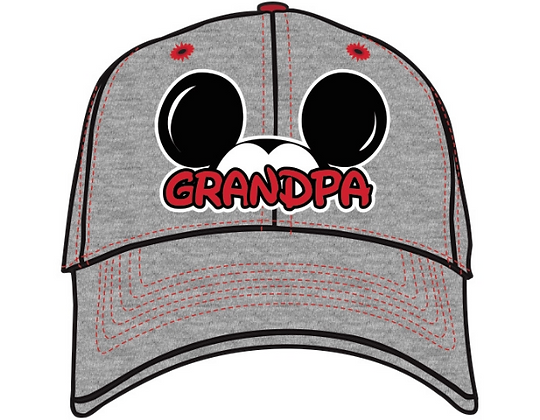 Disney's Adult 'Mickey Ears' Gray Grandpa Hat