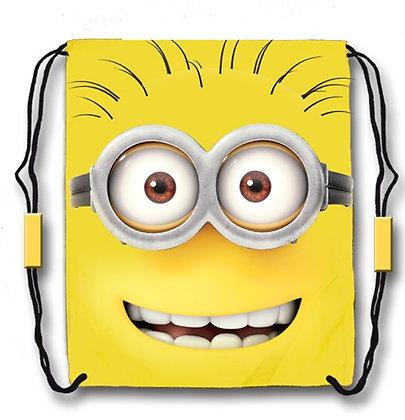 Disney's Hello Tom 'Minions' Yellow Drawstring Tote