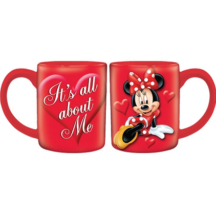 Disney's Red All About Me Minnie Mouse 14oz Mug
