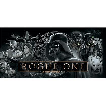 "Star Wars Rogue One Full Cast 28"" X 58"" Beach Towel"