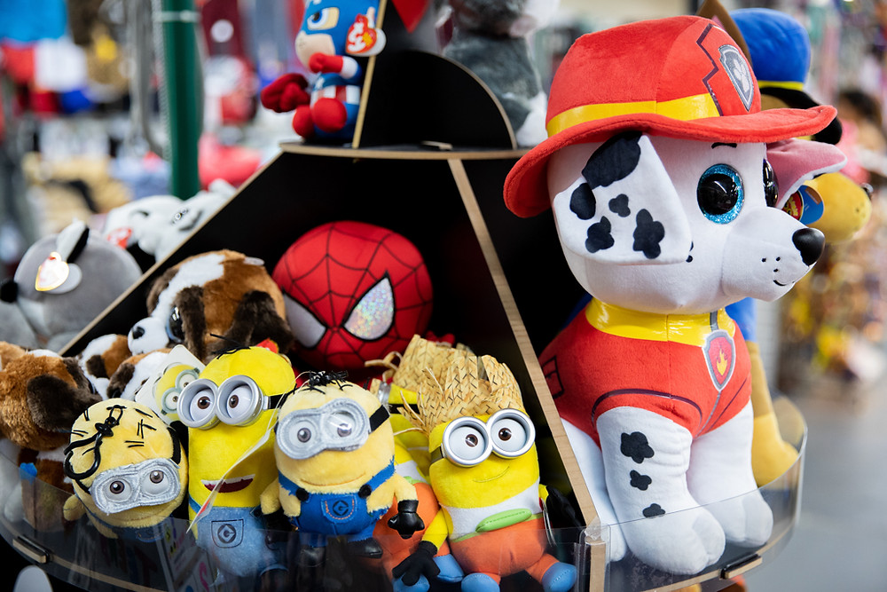 Stuffed Animals and Toys at Visitors Flea Market in Kissimmee, Florida