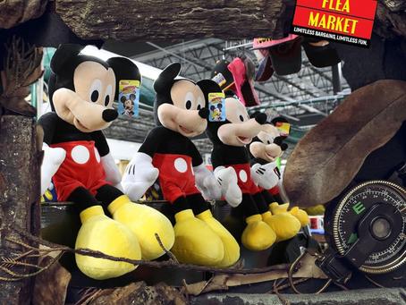 Visit the visitors flea market!