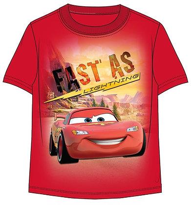 "Disney's ""Cars"" Fast as Lightning Toddler Red Shirt"
