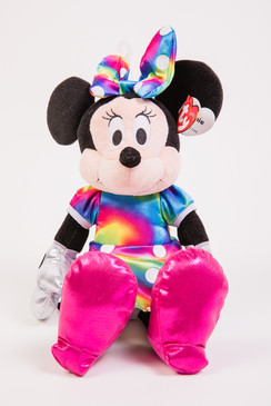 Minnie Mouse plush beanie baby doll