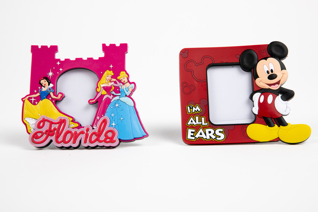 Disney frames with the princesses and Mickey Mouse