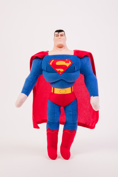 Superman doll with cape
