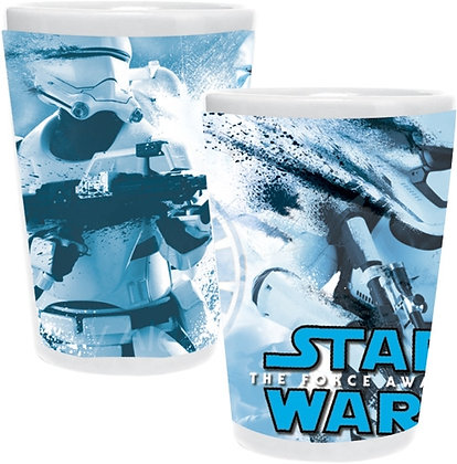 Disney's Star Wars Trooper Splatter Collector Ceramic Glass
