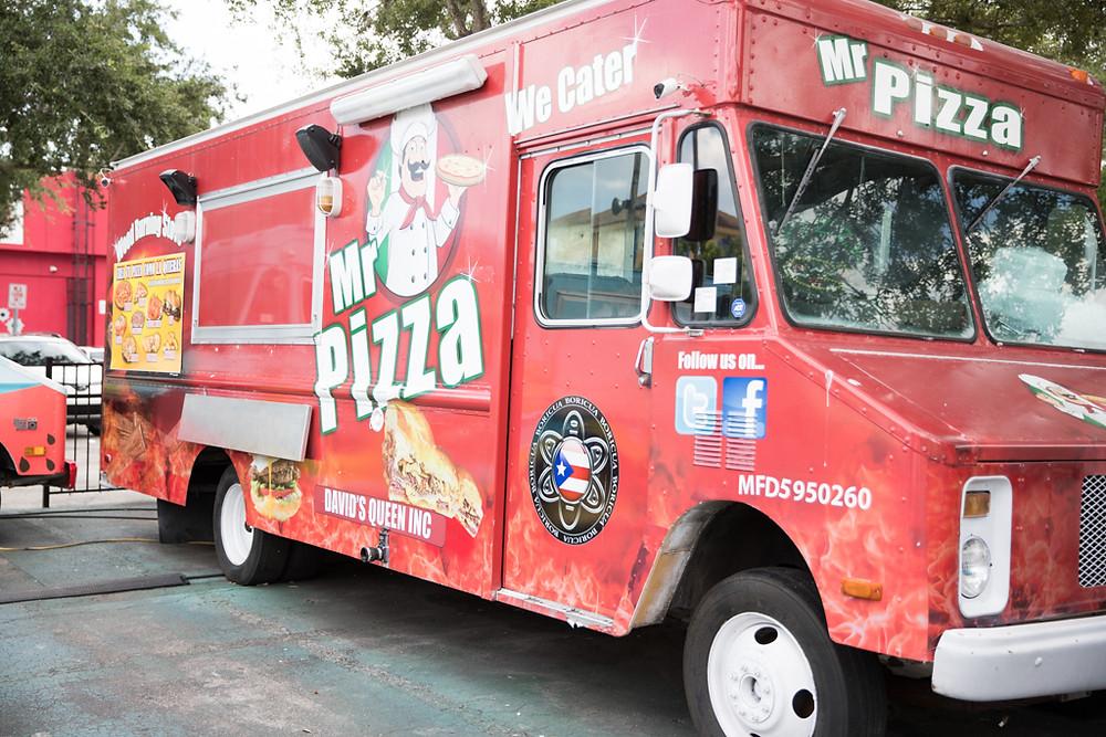Mr. Pizza at World Food Trucks in Kissimmee Florida