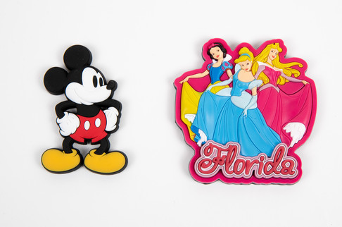 Mickey Mouse and Princess Magnets
