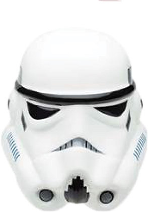 "Disney's ""Star Wars"" Storm Trooper White Coin Bank"