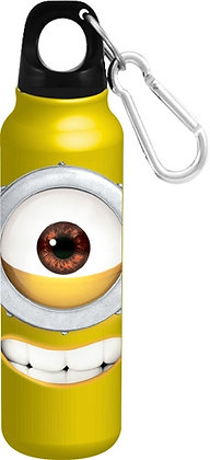 "Disney's ""Just Smile Big Face"" Minion Yellow Bottle"