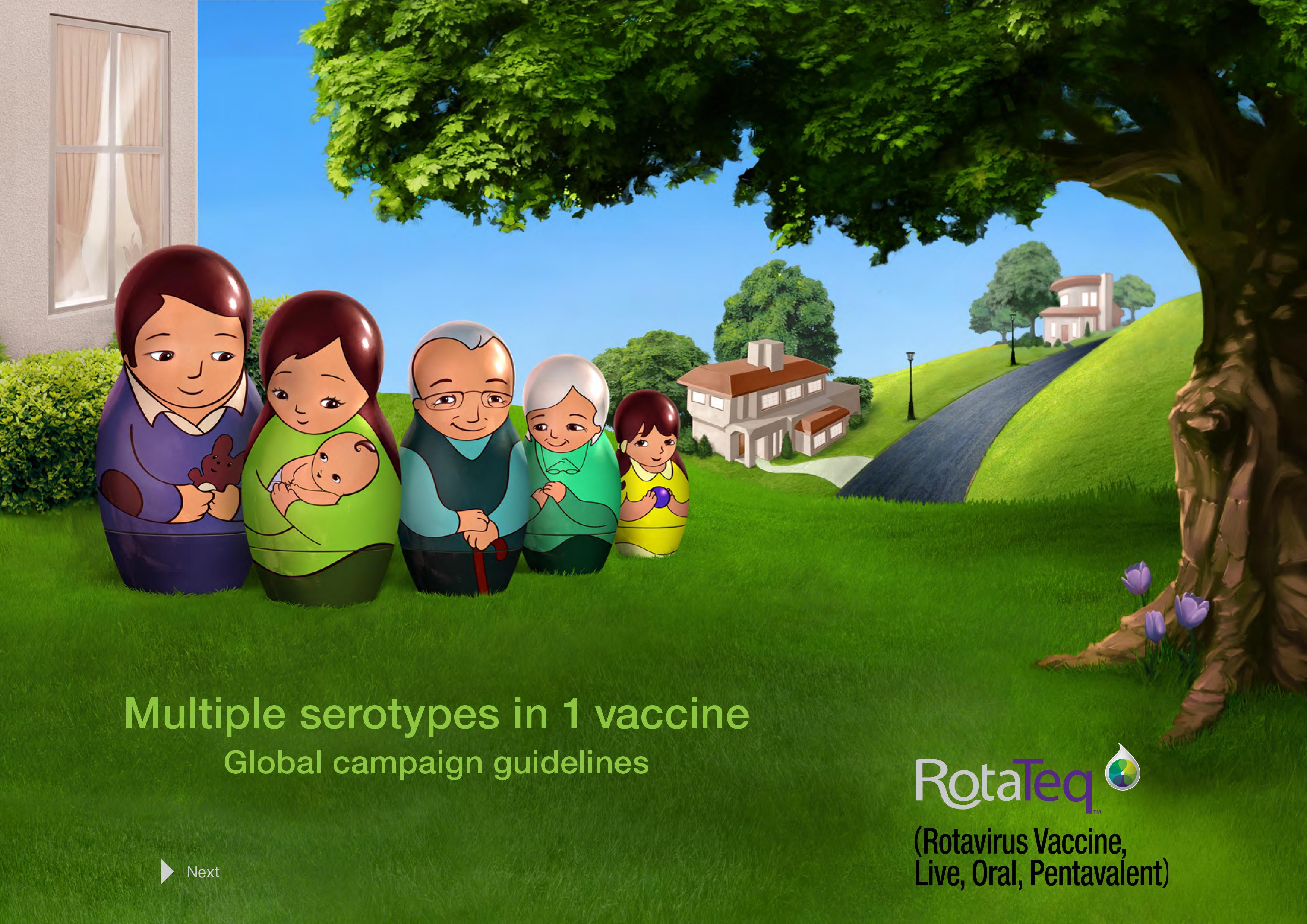 RotaTeq brand campaign