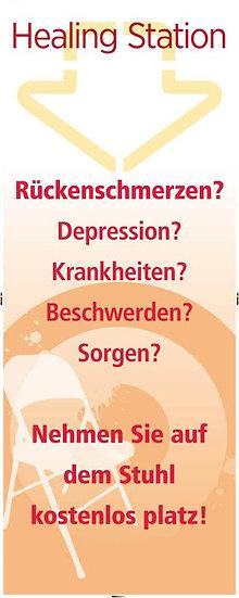 Evangelisatie banner Duits