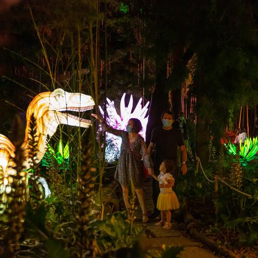 Magical Garden - Parque Jurássico