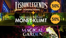 Lisbon Legends + Magical Garden + Monet & Klimt