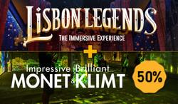 Lisbon Legends + Monet & Klimt