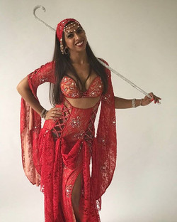 Love this #REDLook from Bellydance Bouti