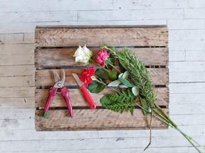Début mars / préparation bouquet italie