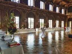 Décoration salle de bal Hôtel de ville de Nancy