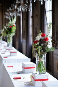 Bouquet aux couleurs de l'Italie