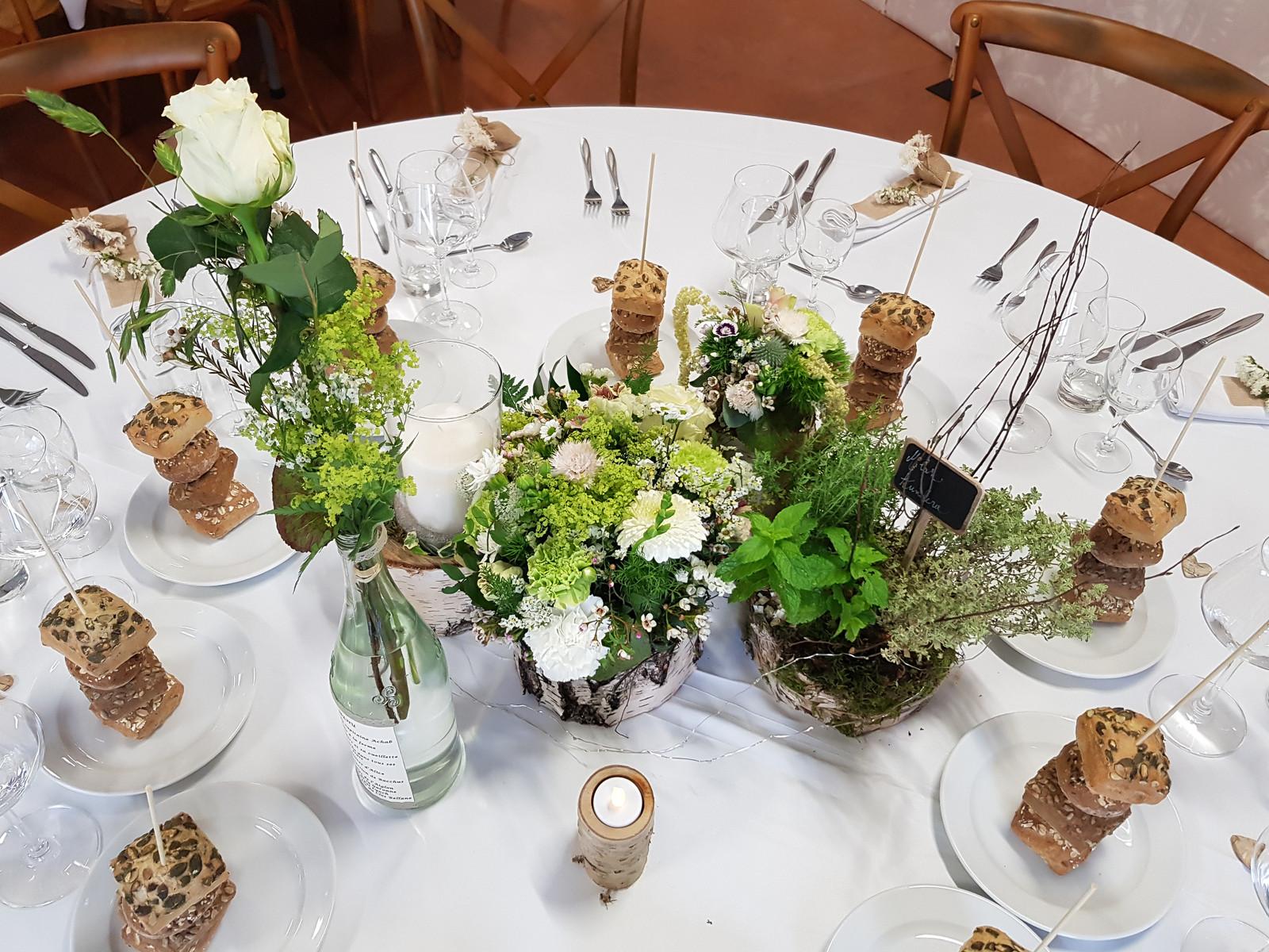 Deco Centre De Table début mars / décoration centre de table mariage