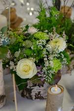 Début mars / décoration centre de table mariage