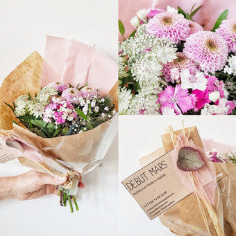 Bouquets fête des mères 2018
