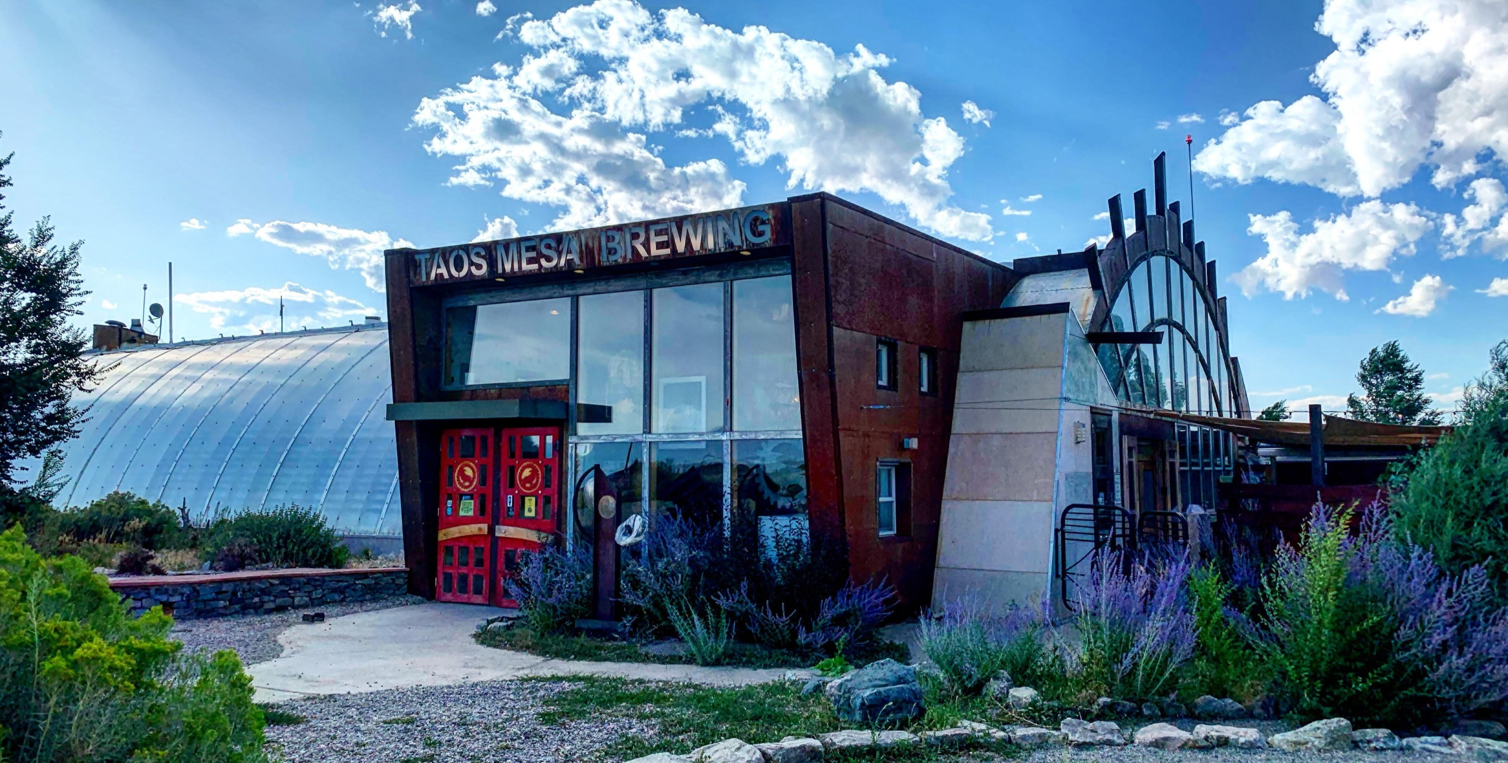 Taos Mesa Brewing Mothership.