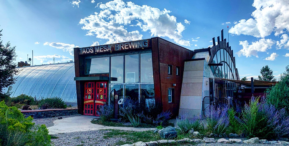 Taos Mesa Brewing Mothership Building