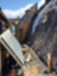 Taos Mesa Brewing Fire Damage - Building