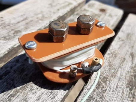Self-Built One-String Humbucker Pickup