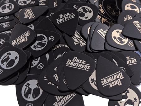 Dusk Brothers Guitar Picks Available Now