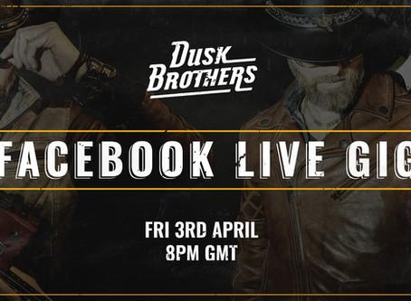 Facebook Live Gig Rescheduled