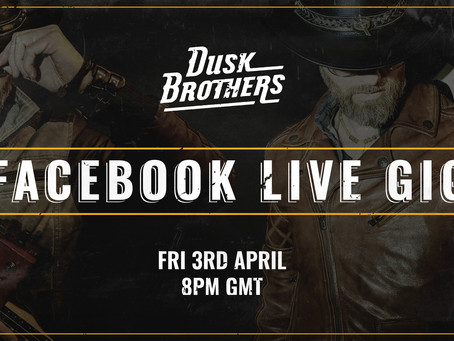 Facebook Live Gig Rescheduled